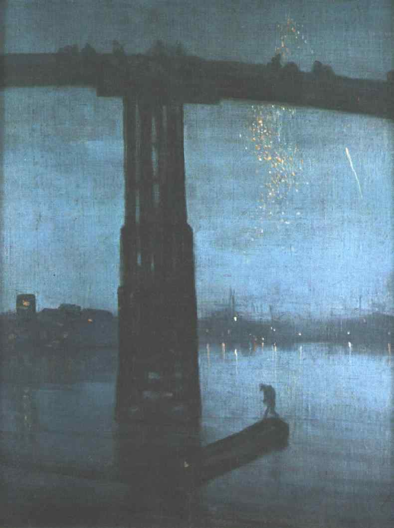 Nocturne: Blue and Gold, Old Battersea Bridge, Whistler